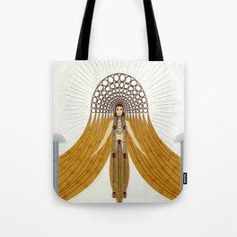 "Art Deco Oriental Design ""Café Foujita"" Tote Bag"