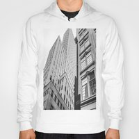 dallas Hoodies featuring Downtown Dallas by Sofleecori