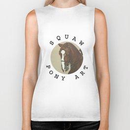 Squaw Pony Logo Gifted Biker Tank