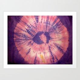 Tie Dye 015 Art Print