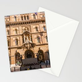 Sydney Cenotaph and Historic GPO Building, Martin Place, Sydney Stationery Cards