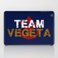 vegeta iPad Cases featuring Team Vegeta by AJF89