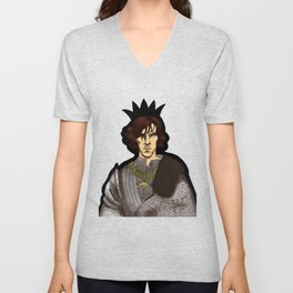 The Hollow Crown - Shakespeare's Richard III (colour) Unisex V-Neck