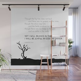 I Will Rejoice Wall Mural