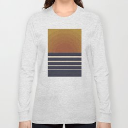 Retro Sunset Long Sleeve T-shirt