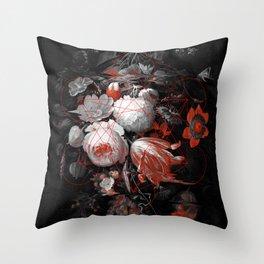 sacred flowers Throw Pillow
