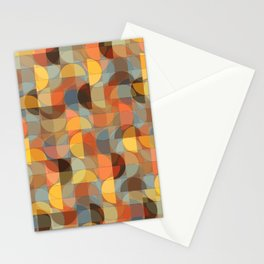 The Sky Was On Fire Stationery Cards