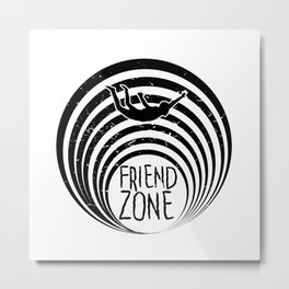 FriendZone Metal Print