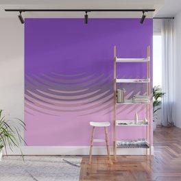 Manan pink purple Wall Mural