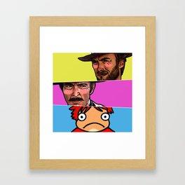 The Good, The Bad & The Ghibli Framed Art Print