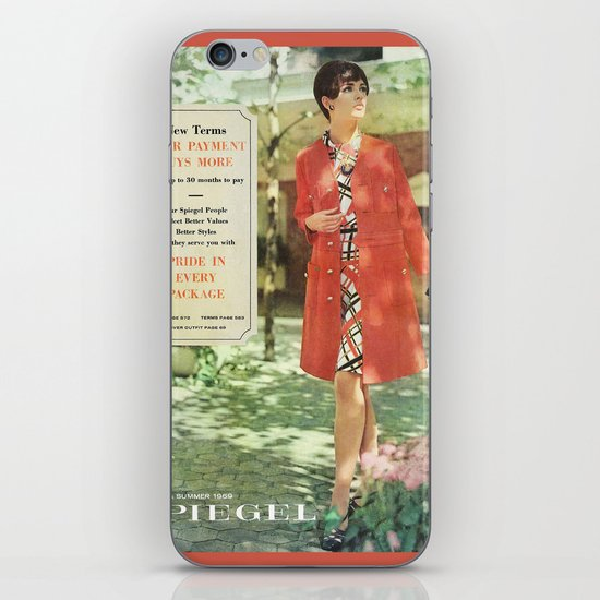 1969 - Spring SUmmer Catalog Cover iPhone & iPod Skin