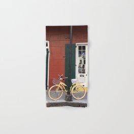 New Orleans Bicycle - Orleans Street Hand & Bath Towel