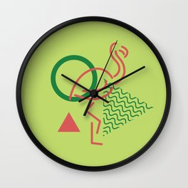 Miami Vibes (Minimal) Wall Clock