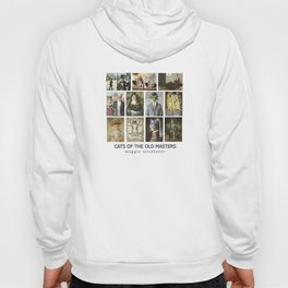 Cats of the Old Masters Hoody