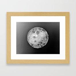 pancake Moon Framed Art Print