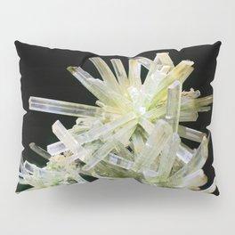 Quartz Crystal Gemstone Rock Stone New Age Pillow Sham