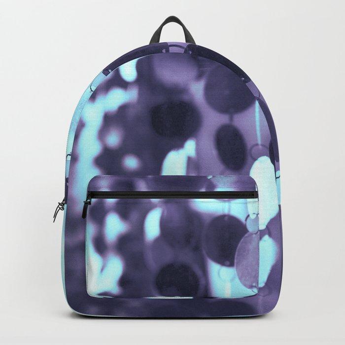 GLAM CIRCLES #Mint/Blue #1 Backpack