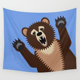Big Bad Bear Wall Tapestry