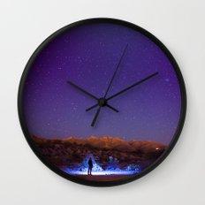 Exploring the night Wall Clock