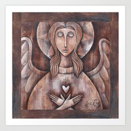 Angel Serenity Art Print