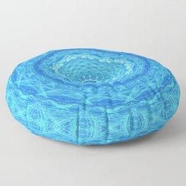Mandalic Sea Visions Floor Pillow