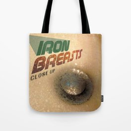 Iron Breasts Tote Bag