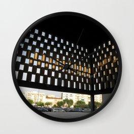 En Panal Wall Clock