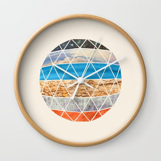 Eco Geodesic  Wall Clock