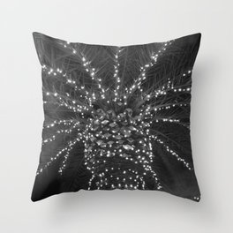 Lighted Palm Tree Throw Pillow