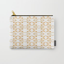 Luxury mandals vint. GOLD - WHITE Carry-All Pouch