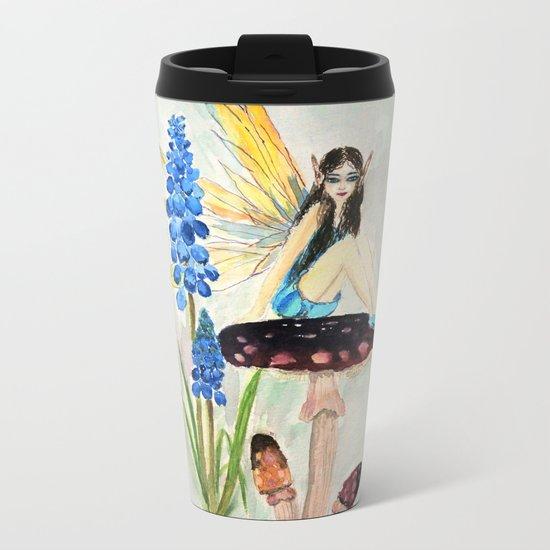 My childhood fantasy. colored Metal Travel Mug