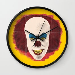 The Perplexing Pennywise, the Dancing Clown Wall Clock