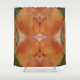 autumn colours abstract 4 Shower Curtain