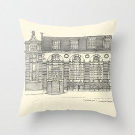 Gerlinger Hall Throw Pillow