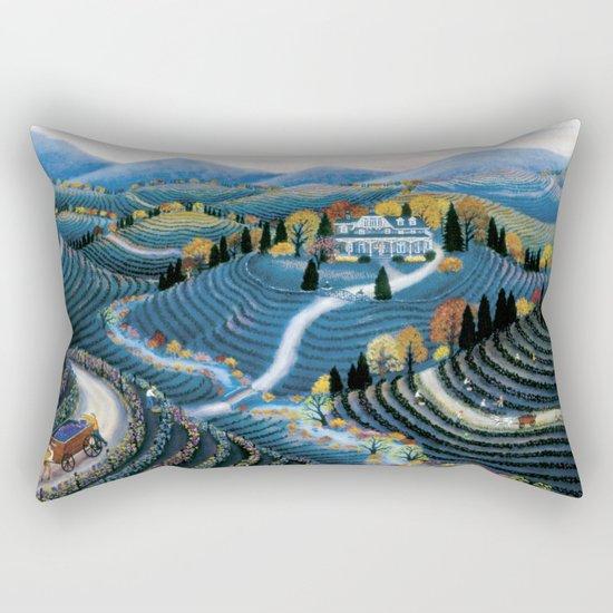 Hudson Valley by Kathy Jakobsen Rectangular Pillow
