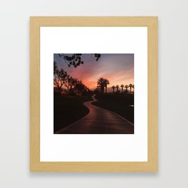 The Constant Path of Self-Discovery Framed Art Print