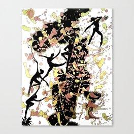 Ballet Dancers Canvas Print