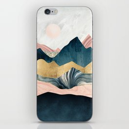 Plush Peaks iPhone Skin