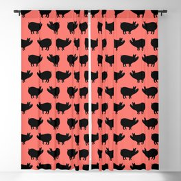 Angry Animals: Piggy Blackout Curtain