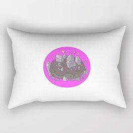 Crystal Donut Rectangular Pillow