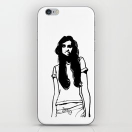 girl girl iPhone Skin