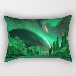Green Planet Rectangular Pillow