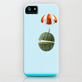flying my watermelow iPhone Case