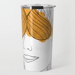 Fish Face Travel Mug