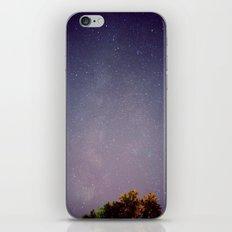 Meteors near the Milky Way iPhone & iPod Skin