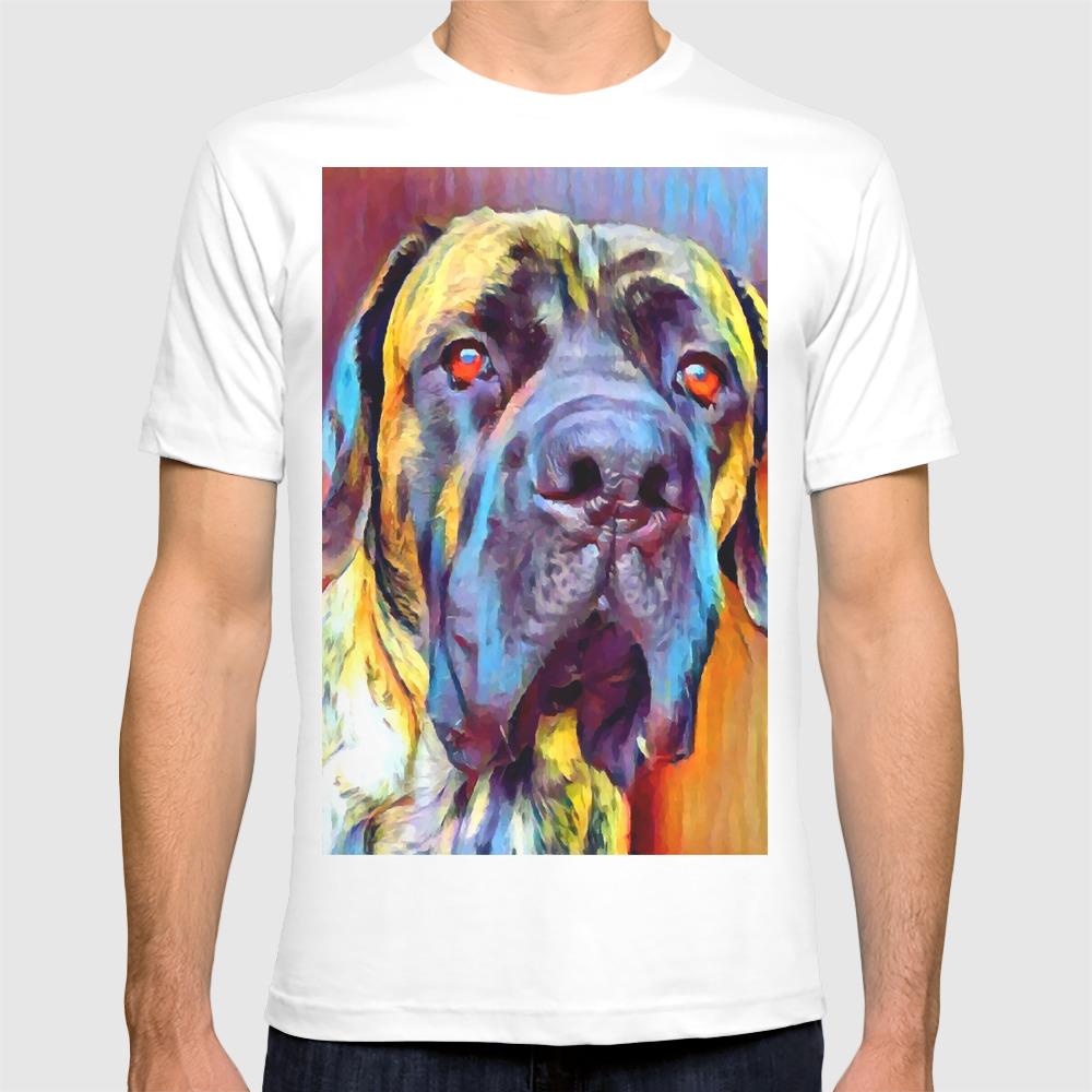 English Mastiff 2 T Shirt By Shrenk