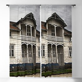 House in Puerto Varas Blackout Curtain