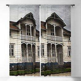 House in Puerto Varas Blackout Curtain