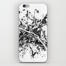 Paris map iPhone & iPod Skin
