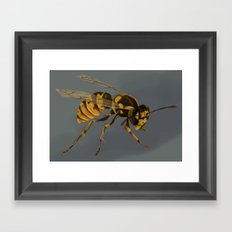 little wasp  Framed Art Print